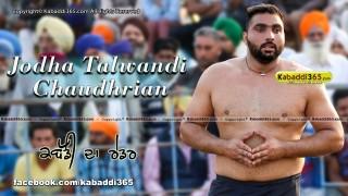 Jodha Talwandi Chaudhrian